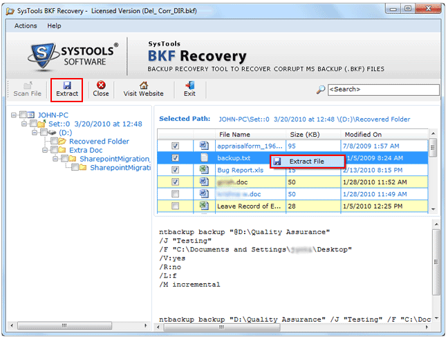 Advance Corrupt Backup Recovery Software